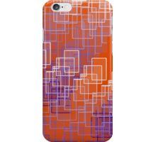 Sunset in Abstract Geo iPhone Case/Skin