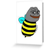 Pepe the bee Greeting Card