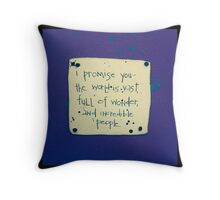 I Promise You #3 Throw Pillow