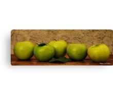 Apples1 Canvas Print