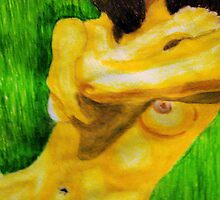 Nude in mixed medium by GEORGE SANDERSON
