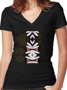 Asian touch Women's Fitted V-Neck T-Shirt