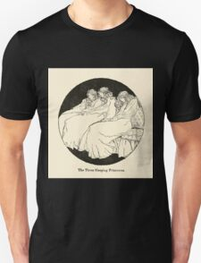 Snowdrop & Other Tales by Jacob Grimm art Arthur Rackham 1920 0076 The Three Sleeping Princesses T-Shirt