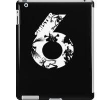 sinster 6 iPad Case/Skin