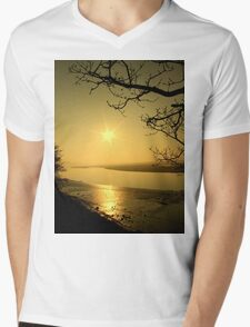 sun spot Mens V-Neck T-Shirt