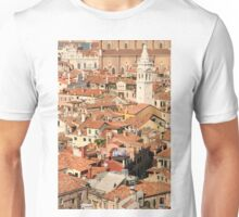 Venice rooftop detail Unisex T-Shirt