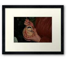 Painting the Pottery Framed Print