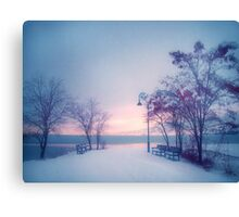 Winter Glow Canvas Print