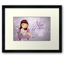 Mac Love Framed Print
