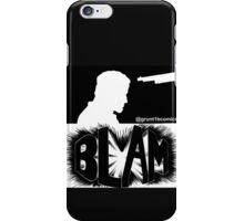 Bedlam In Troubletown BLAM Censored iPhone Case/Skin