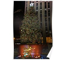 Rocker feller Christmas Tree, NYC Poster