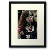 Infected Framed Print