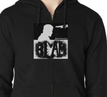 Bedlam In Troubletown BLAM Censored Zipped Hoodie