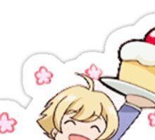 Honey Senpai and The Hitachiin Twins Sticker