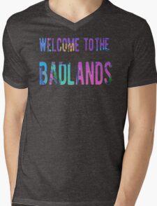 Welcome to the Badlands Mens V-Neck T-Shirt