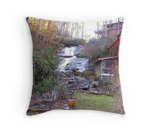 Sylvan Falls Mill Throw Pillow