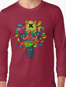 Monster Brains Long Sleeve T-Shirt