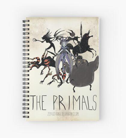 Tim Burton The Primals Spiral Notebook