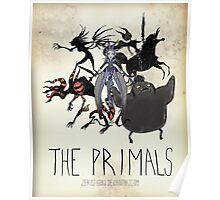 Tim Burton The Primals Poster