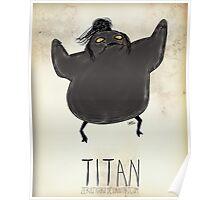 Tim Burton Titan Poster
