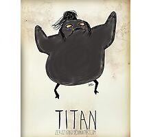 Tim Burton Titan Photographic Print