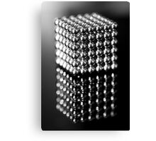 Neo Puzzle Cube Canvas Print