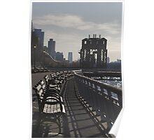 Riverside Park, NYC Poster