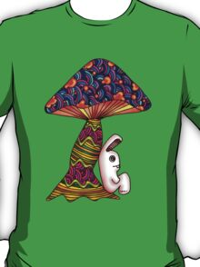 Rabbit by a Mushroom T-Shirt