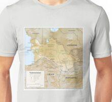 an awe-inspiring Turkmenistan landscape Unisex T-Shirt