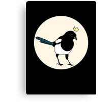 King Magpie Canvas Print