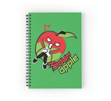 Sour Apple Spiral Notebook
