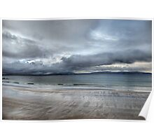 Galway Bay Dramatic View Poster