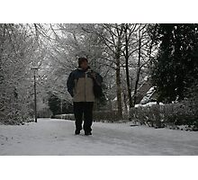 Well! If that's not snow, ... I'm a Dutchman!! Photographic Print