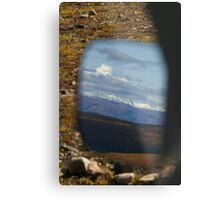 Mirror, Mirror, On The SUV ..... Metal Print