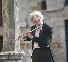 Flautist by phil decocco
