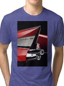 1957 Chevrolet Bel Air Tri-blend T-Shirt