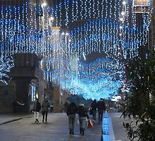Christmas lights in Ancona (Italy) by presbi