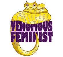 Venomous Feminist Photographic Print