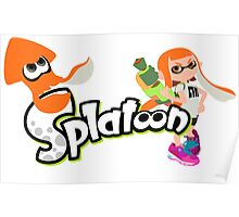 Splatoon - Inkling Girl Poster