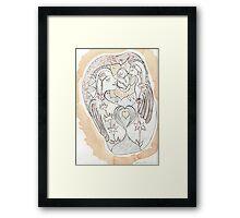 Mother Love Framed Print
