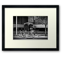 Stride Framed Print