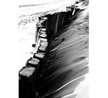 Along the beach Photographic Print