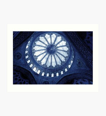 Dome / Sultanahmet Mosque Art Print