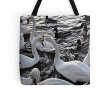 Swan Rampage!! Tote Bag