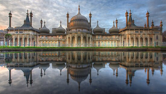 The Royal Pavilion - Brighton by Adam Gormley