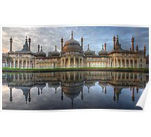 The Royal Pavilion - Brighton Poster