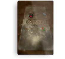 Alice's Gravestone Metal Print
