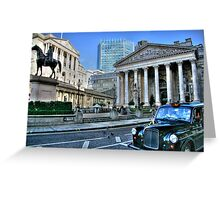"""A Historical View"" Greeting Card"