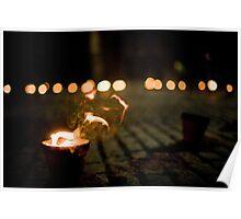 Fire pots Poster