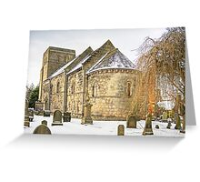 Dalmeny Parish Church Greeting Card